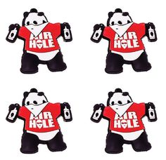 Airhole Party Panda Stomp Pads
