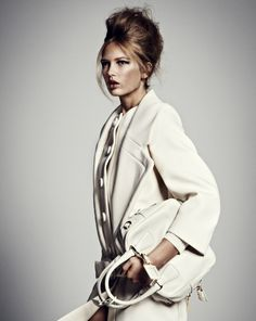 Model Romee Strijd, photographer Jouke Bos for Marie Claire, Netherlands, December 2011