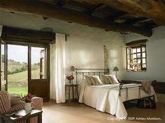 ceiling, door, window, bed, walls, love!