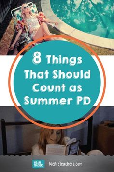 8 Things That Should Totally Count as Summer PD. From lounging by the pool to getting drinks with teacher friends, here are things that should totally count as PD for teachers over summer break. Teacher Humour, Teaching Humor, Teaching Career, Teacher Memes, Teacher Hacks, Teaching Resources, First Year Teachers, New Teachers, Summer Professional