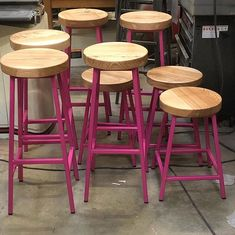 Industrial Bar Stools — Paul Frampton Design Ltd