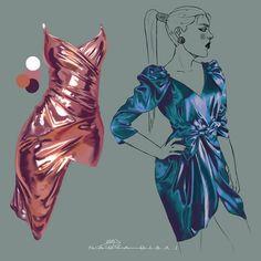 35+ digital art tutorials | Sky Rye Design Digital Painting Tutorials, Digital Art Tutorial, Art Tutorials, Art Sketches, Art Drawings, Fabric Drawing, Illustration Techniques, Fashion Design Drawings, Anatomy Art