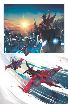 ryallsfiles:  Some proof thatSarah Stone(@Cassandra Odell)'s Windblade is gonna be beautiful series. Issue one page one art and colors by Stone....