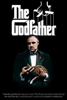 New Marlon Brando is Don Vito Corleone The Godfather Poster | eBay