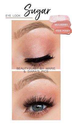 Beautiful eye makeup look created using ShadowSense shades, Pink Opal Shimmer, Mulberry, and Pink Posey Makeup Eye Looks, Beautiful Eye Makeup, Beautiful Eyes, Cream Eyeshadow, Eyeshadow Makeup, Makeup Dupes, Eyeshadows, Senegence Makeup, Senegence Products