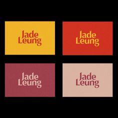 """Gefällt 63 Mal, 1 Kommentare - Visual Journal (@visualjournal.it) auf Instagram: """"Jade Leung by @tim.semple on Visual Journal - #branding #identity #logo #graphicdesign #design…"""""""
