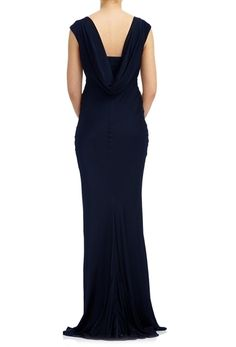 Salma Dress Navy | Ghost.co.uk