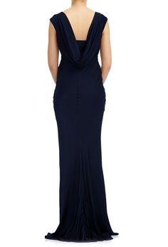 Salma Dress Navy | Ghost.co.uk