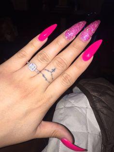 Pink nails✨|| To see more follow @Kiki&Slim