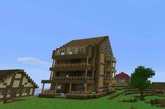 nice Cool minecraft house...