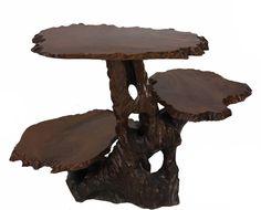 3 Antieke Bijzettafeltjes.Pair Of Three Tiered Carved Walnut Tables Dreamy Dreamy 3 21