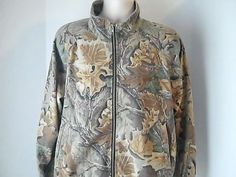 Woolrich Rugged Outdoorwear Mens L Camo Thin Hunting Coat Jacket #Woolrich #BasicCoathuntingcamo