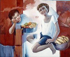 Artista colombiana Neva Lallemand