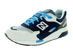 size 40 b0df2 fca6d New Balance Men s 1600 Classics With Black   Brightt Blue Running Shoe