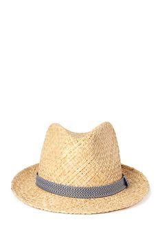 Desert Cool Straw Fedora | FOREVER21 #Accessories #Hat