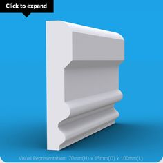 Create a paneling effect on wall to attract your guests with our MDF Dado Rail. Moulding Profiles, Dado Rail, Crown Molding, Baseboards, Plaster, Colonial, Bookcase, Shelves, Wall