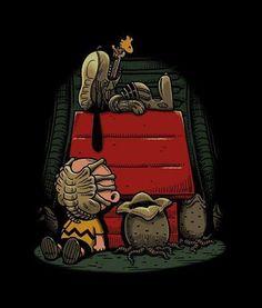 Snoopy Alien