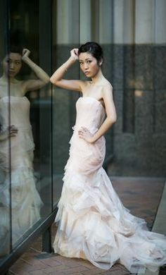 Used Vera Wang Wedding Dress  | Get a designer gown for (much!) less on PreOwnedWeddingDresses.com