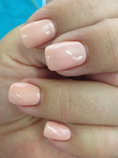 Acrylic with tips and Gelish 'Forever Beauty'