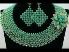 tutorial on how to make this wonderful beaded jewelry. - YouTube