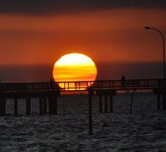 Fairhope Pier Sunset