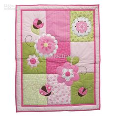 Wholesale New Baby Quilt Play Mat Cotton Fabric Applique Embroidery Cartoon Pattern For Girl and Boy M, Free shipping, $23.49-29.99/Set | DHgate