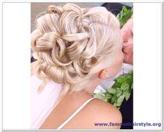 bridal updo | Wedding Updo Hairstyle for Medium Length Hair Wedding Updos for Medium ...