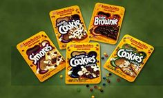 I remembe eating the brownie one as a kid.