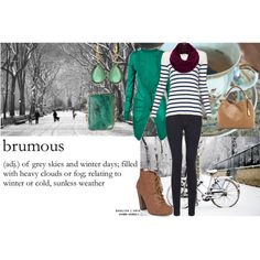 """""""Brumous"""" by lizzybonescair on Polyvore"""