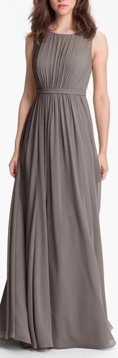 pleated chiffon gown Cheap Bridesmaid Dresses 66083c3b2