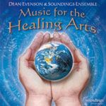 After receiving feedback from massage therapists, Reiki practitioners, and other healing artists on which of their many tracks were most effective, New Age flautist Dean Evenson and his Soundings Ensemble (Tom Barabas on piano, Scott Huckabay on guitar, Dudley Evenson on harp, and Li Xiangting on Chinese zither) assembled Music for the Healing Arts.