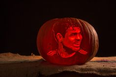 Diego Costa Chelsea Pumpkin Carving