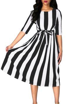 d95347309 55 Best Striped Dress images