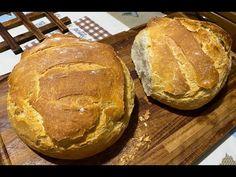 Χωριάτικο ζυμωτό ψωμί - YouTube Breads, Food, Youtube, Bread Rolls, Essen, Bread, Meals, Braided Pigtails, Buns