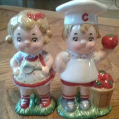 Campbell's Soup Twins Salt & Pepper Shakers