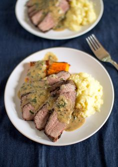 Sous Vide Beef Brisket with Mustard SauceReally nice recipes. #hashtag