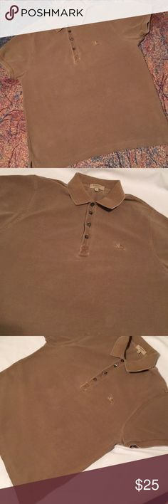 Burberry Men's Polo slim fit Burberry Slim Fit Large fits more like a medium. A casual polo used condition. Burberry Shirts Polos