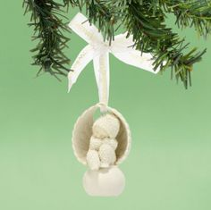 Department 56 Snowbabies by Kristi Jensen Pierro Angel to Look After You Ornament