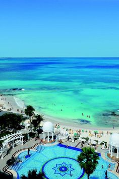 Riu Palace Las Americas- this is where we went on our honeymoon and I have always wanted to go back. Maybe next year for our tenth anniversary...