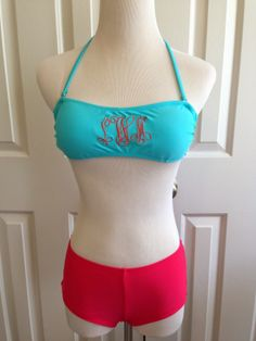 Sew Spoiled: Swim Suit Embroidery Tutorial