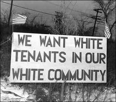 """""""Sundown towns"""" or """"sunset towns"""" were common from Ohio to Oregon and well into the South. By local ordinance, people of color had to leave the town by sundown. Some had local laws making it a crime for a non-white person to be in the town after dark (they could work as maids or laborers, just not live there.) Some communities became """"sunset towns"""" after people of color were driven out, had their property destroyed, or their lives threatened."""
