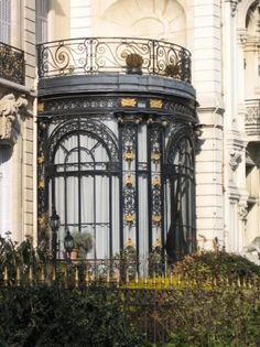 Conservatory at 5, Avenue Van Dyck, Monceaux, Paris. The inspiration for Saccard's serre in Zola's La Curée