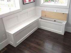 kitchen bench chairs, Storage Bench Amazing Kitchen ...
