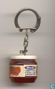 Sleutelhanger - Hero - Hero Confiture Extra Jam Aardbeien