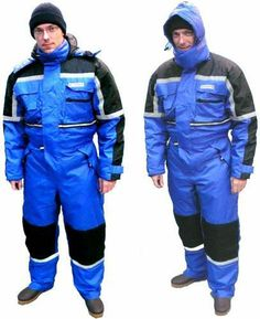 Waterproof Coveralls with Hood | Thermo- Coverall, size XXL, wind and waterproof, made of Oxford Nylon ...