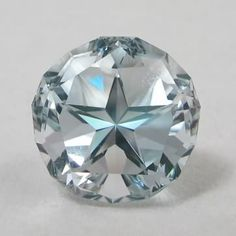 official Texas State Gemstone Cut - Blue Topaz