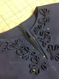 Отделка из декоративного вытачного шнура может стать настоящим украшение вашего изделия . И большая прелесть в том , что вам не потребу...