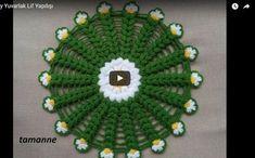 Kolay lif modelleri anlatımlı şık bir örnek. Papatyalı bir model. Banyo lifi nasıl yapılır anlatan çok güzel bir video. Lif modellerimiz arasına yepyeni bi Kids Rugs, Knitting, Crochet, Home Decor, Diy And Crafts, Fuentes De Agua, Crochet Throw Pattern, Patterns, Decoration Home