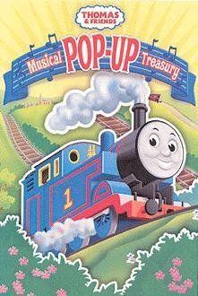 Thomas The Tank Engine Pop Up Musical Treasury Book by Publications International Ltd. $14.99. Thomas and his friends are ready to roll! Ride along with these 4 train stories and 4 favorite Thomas songs. Feature 10 beautiful pop-up scenes. Ages 18 months and up.