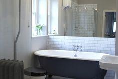 En-suite Clawfoot Bathtub, Bathroom Ideas, Bathrooms, Home, Bathroom, Full Bath, Ad Home, Homes, Bath